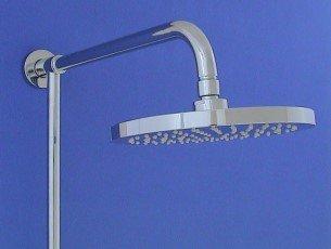 regendusche brauseset aufputz set 33 2247c regenbrause 20cm bad dusche duschset ebay. Black Bedroom Furniture Sets. Home Design Ideas