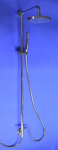 Regendusche Aufputz : Regendusche Brauseset Messing Aufputz-Set 33 2247ST Kopf 20cm Dusche