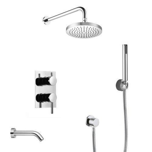 welfenstein unterputz wannen set 8w regendusche 24 5cm nur eur. Black Bedroom Furniture Sets. Home Design Ideas